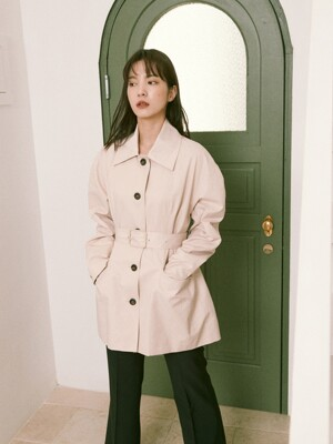 Poppy Half Trench Coat