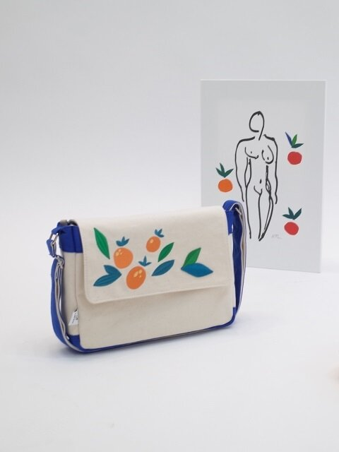 Tangerine bag (blue)