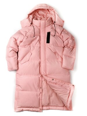 [FW18 SV] Stereo MA-1 Long Down Parka(Pink)