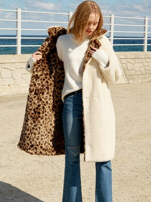 Leopard Faux Fur Coat (Brown)_VW8WH0100