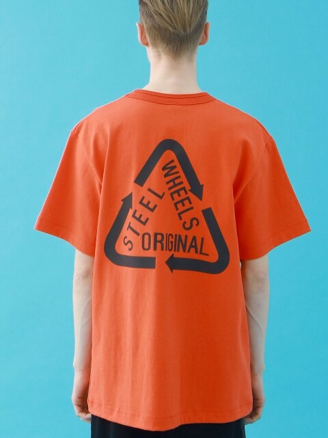 REFLECTIVE T SHIRT (ORANGE)
