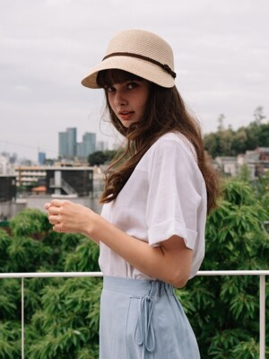 Auray Panama Hat (4color)