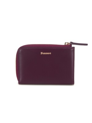 MINI WALLET 2 - PLUM PURPLE