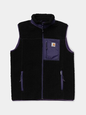SCOUT VEST LINER_BLACK/ROYAL VIOLET