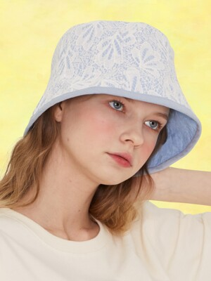 SZ BUCKET HAT(SKY BLUE)
