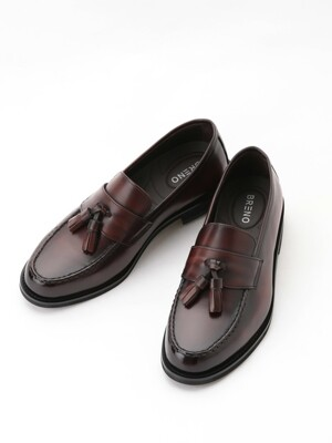 Oxford Tassel Loafer Wine#1037