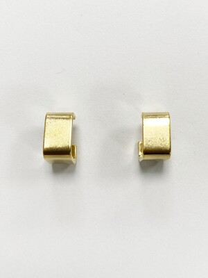 Mini Square Hoop Earring