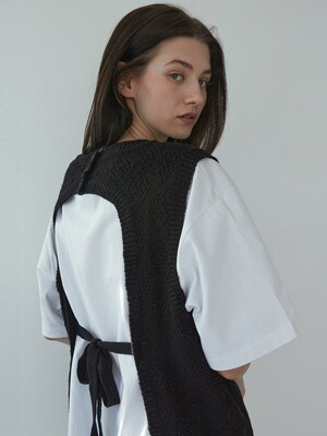 Layered Vest (Black)