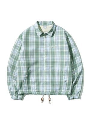 SWING JACKET [GREEN CHECK]
