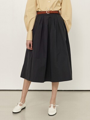 BOROMWAT Flared skirt (Black)
