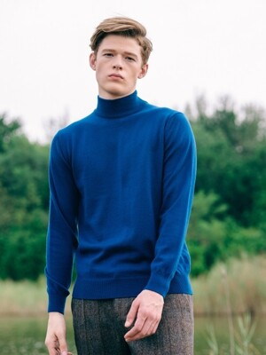 Basic Mockneck Wool Knit