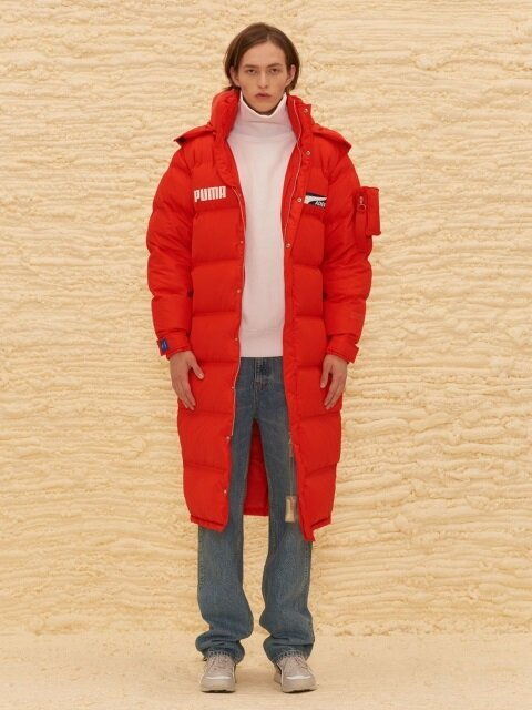 PUMA x ADER Down Coat - Puma Red