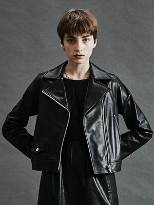 JDI SKIN RIDER JACKET[BLACK]