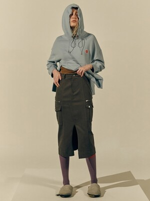 Tidy Cargo Skirt (Brown)