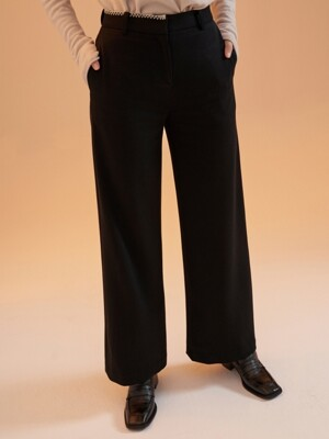 MH12 BLANKET STITCH WIDE PANTS_BK