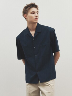 Camp-Collar Cool Easy-care Shirt