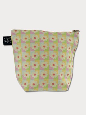 spring flower pouch