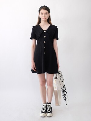 KORA KNIT DRESS_BLACK
