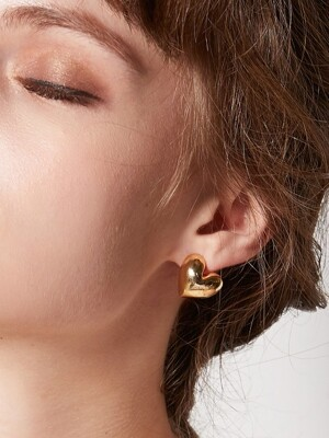 BLOOM HEART EARRING