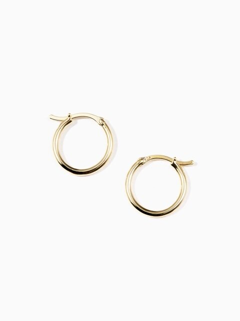 simple round earring S