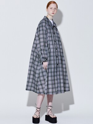 19SS FLARE SINGLE COAT (GRAY CHECK)