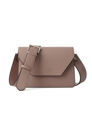 clover cross bag (mauve) - D1006MV