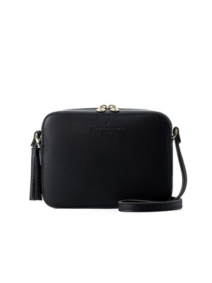 camomile cross bag (black) - D1007BK