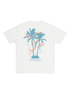 SURF CLUB T-SHIRT (WHITE)