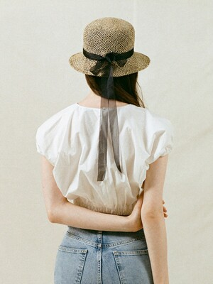 Seagrass Ribbon Bucket Hat