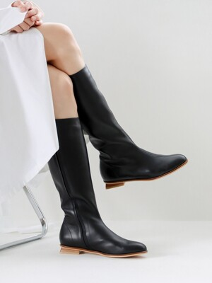 Y mid-long boots_black_20502