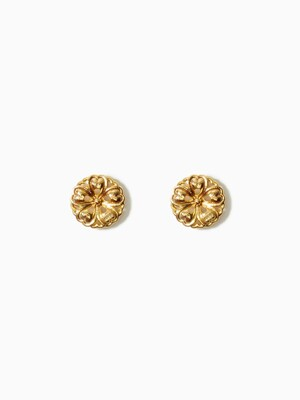 FRANCOISE FLORAL SMALL EARRINGS