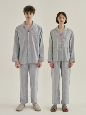(Couple) Blue Mountains Pajama Set