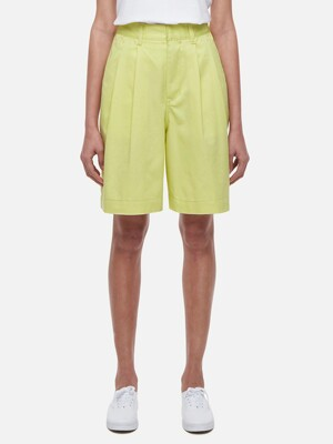 Together Two Tuck Shorts(yellow)