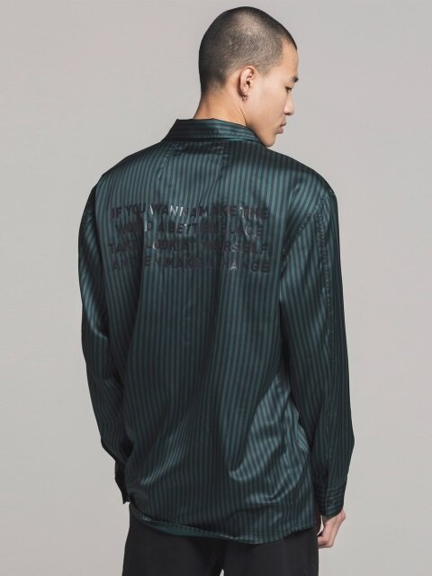 TOWTON LINE SHIRT GREEN