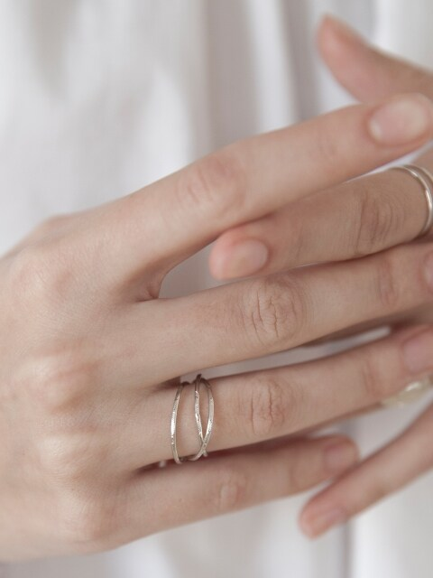 Triple Layered Ring