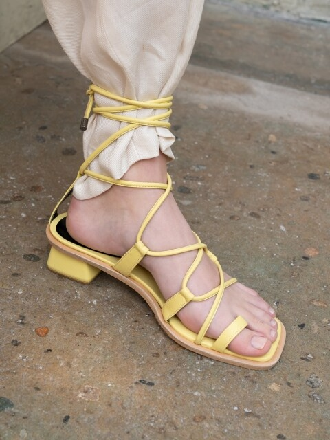 [EXCLUSIVE]CROSS ROPE SANDAL C9S07YW