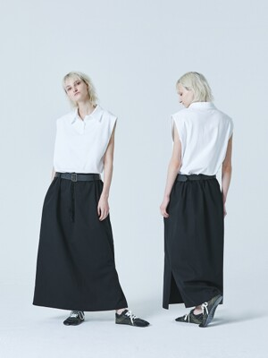 AMU WAIST STRING SKIRT
