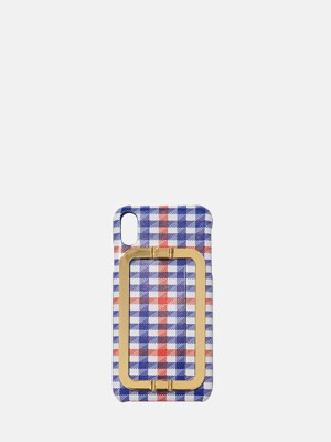 IPHONE XS MAX CARD CASE MULTI CHECK