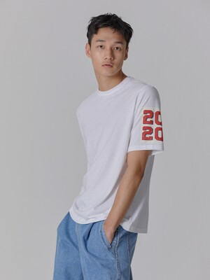 MADE IN SEOUL 2020 SLEEVE T SHIRT WHITE