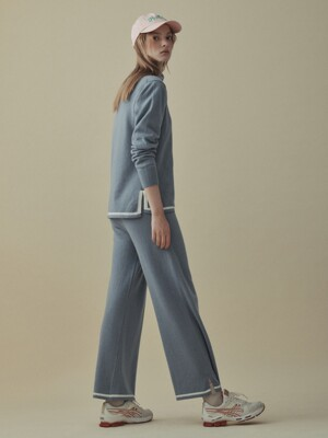 [x EN OR] Straight Banding Pants (3 colors)