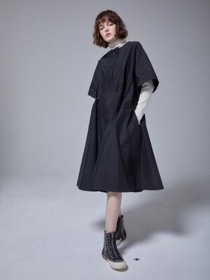 HALF SLEEVE A LINE DRESS_BP4AWD2102