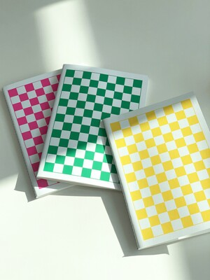 Checkerboard Handy Notebook