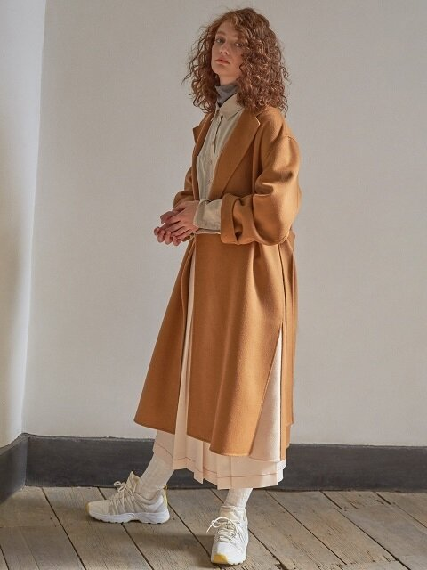 Handmade Pure Wool Coat