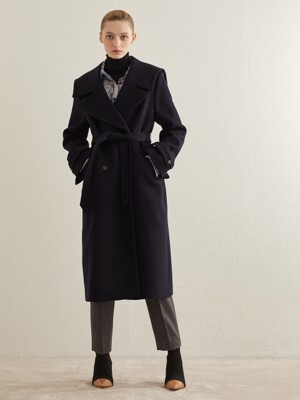 SAILOR WOOL COAT_NAVY
