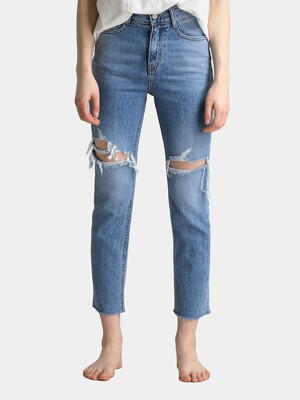 W9 Vintage Slim Denim Pants_Light Blue