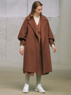 Lauren Handmade Coat_Brown