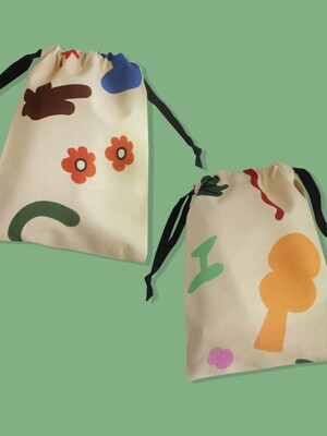 childlike string pouch m