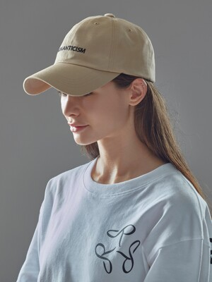 COTTON BALL CAP(BE/BK)