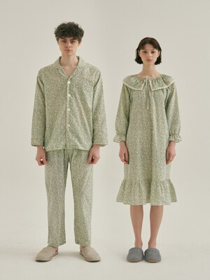 (Couple) Afternoon Tea Pajama Set + One Piece