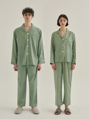(모달) (Couple) Peppermint Pajama Set